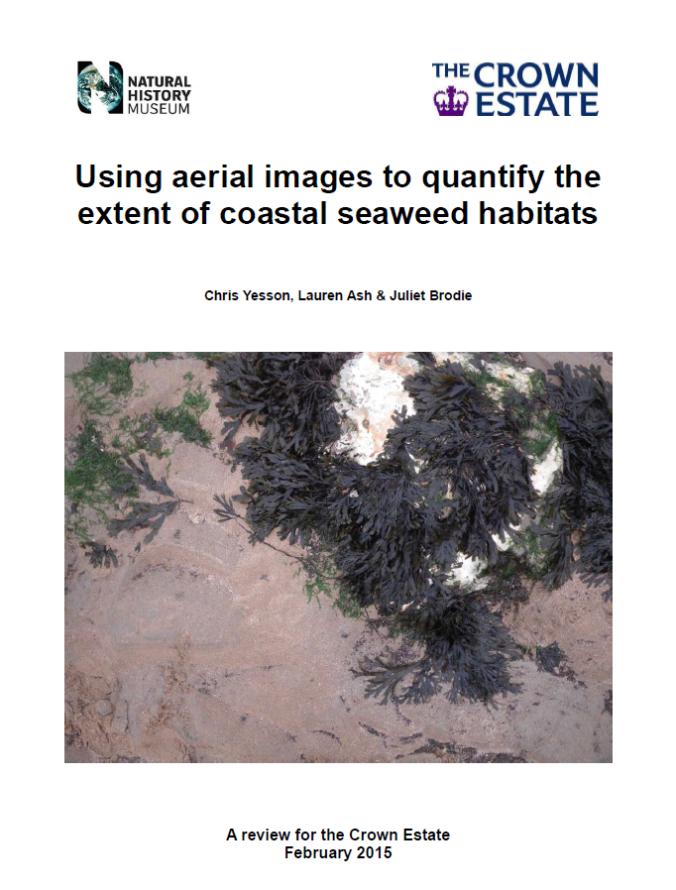 Yesson et al. 2015 Aerial images & seaweeds